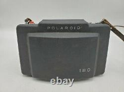 Vintage Polaroid Land Camera Model 180 with Tominon 114mm f4.5 Lens