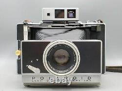 Vintage Polaroid Land Camera Model 180 with Tominon 114mm f4.5 Lens & Meter READ