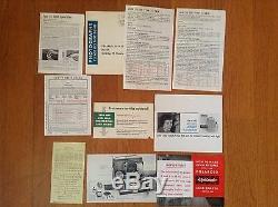 Vintage Polaroid Land Camera Model 80A High Speed Kit Complete Kit