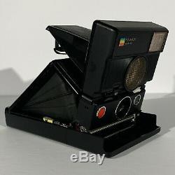 Vintage Polaroid SLR 680 AutoFocus Instant Camera Flash Tested Works