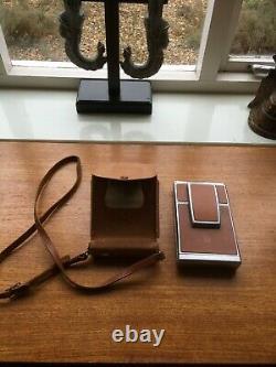 Vintage Polaroid SX70 Land camera with Case Working