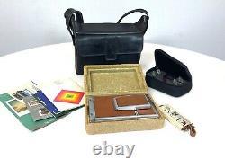 Vintage Polaroid SX-70 Alpha 1 Land Camera SX 70 Tested withCase, Strap, Manual