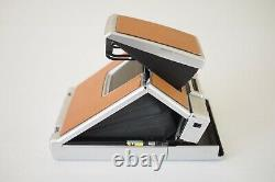 Vintage Polaroid SX-70 Alpha 1 Land Camera With Strap And World Of SX-70 Booklet
