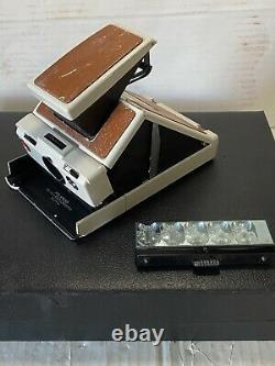 Vintage Polaroid SX-70 Land Camera Alpha Model in Presentation Box Parts Repair