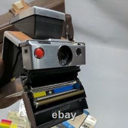 Vintage Polaroid SX-70 Land Camera- Bag- original paperwork