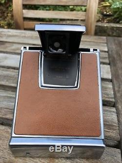 Vintage Polaroid SX-70 Land Camera Excellent Condition With Case Tested
