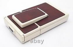 Vintage Polaroid SX-70 Land Camera Model 2 White & Wine Red UK Dealer