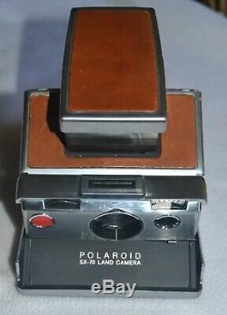 Vintage Polaroid SX-70 Land Camera Untested