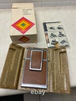 Vintage Polaroid SX-70 Land Camera in box
