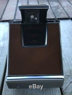 Vintage Polaroid SX-70 Land Camera with 2 Original Cases and Manual Working