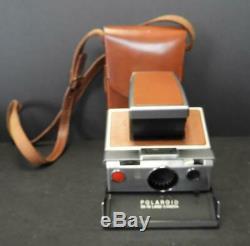 Vintage Polaroid SX-70 Tan Land Camera
