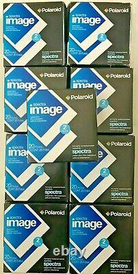 Vintage Polaroid Spectra Image Instant film, 9 x 20 pack Total 180 Photos 02/08