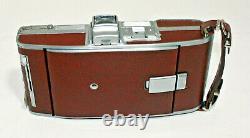 Vintage Polaroid Speedliner Land Camera Model 95B Brown Instant Film Camera