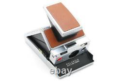 Vintage Polaroid Sx-70 Land Camera Alpha 1 Brown Leather In Nice Original