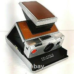 Vintage USA Made Polaroid SX 70 Land Camera with Original Leather Case