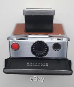 Vintage macchina fotografica polaroid sx 70 Land Camera Alpha 1 SX-70 funziona